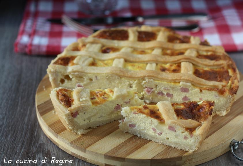 Torta salata con impasto super veloce