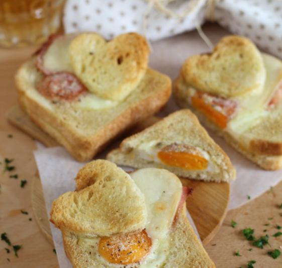 Toast per San Valentino, uno sfizio!