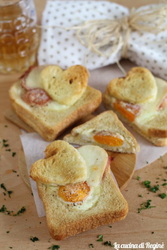 Toast per San Valentino