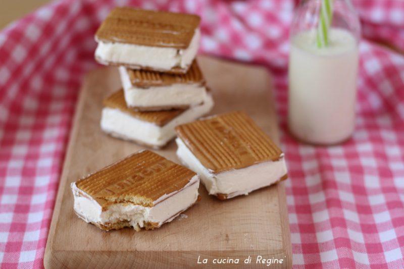 Biscotto gelato homemade