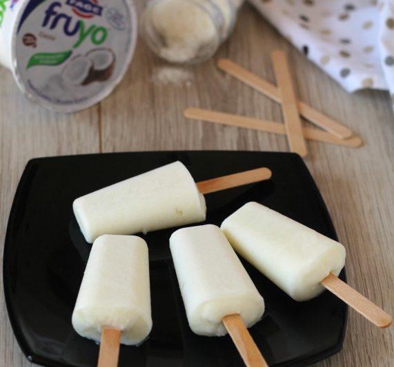 Ghiaccioli allo yogurt sani e genuini