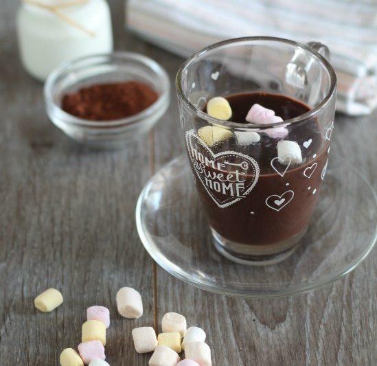 Cioccolata calda a casa come al bar