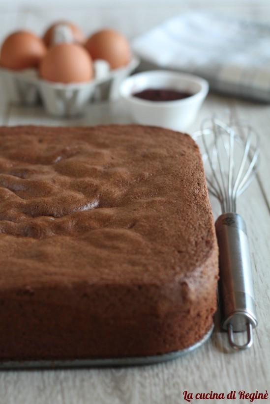 Ricetta Pan Di Spagna Alto Per 12 Persone.Pan Di Spagna Al Cacao Senza Lievito La Cucina Di Regine