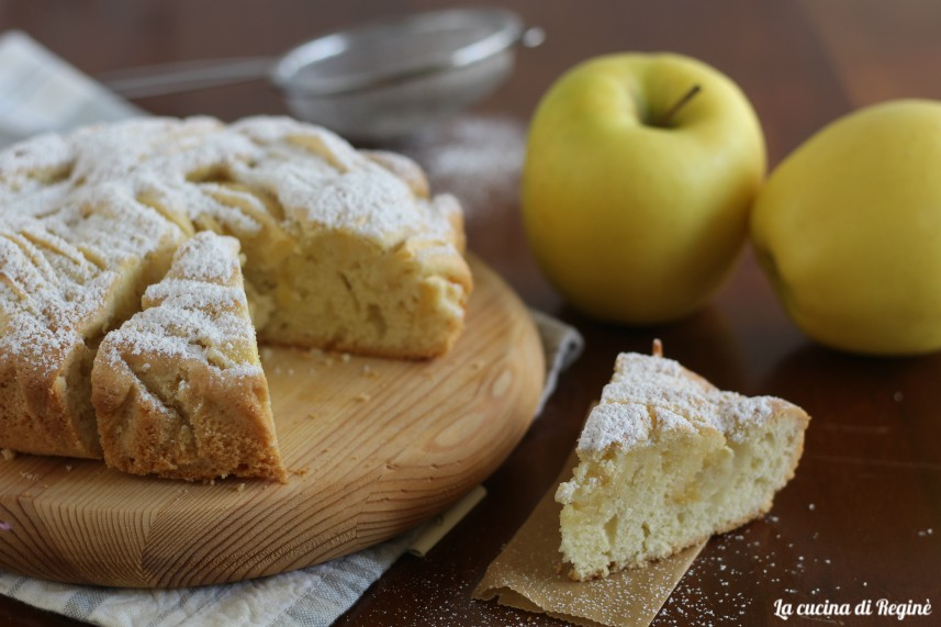 crostata morbida con le mele