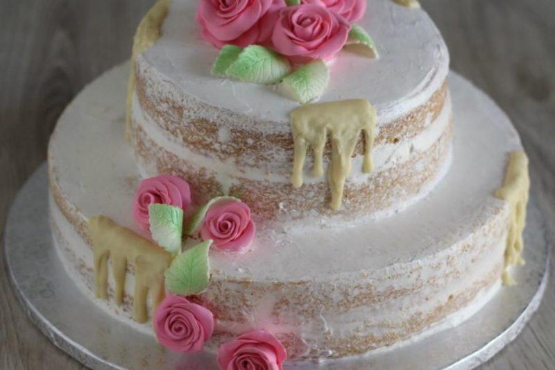 """Nude cake, ovvero la torta """"nuda""""."""