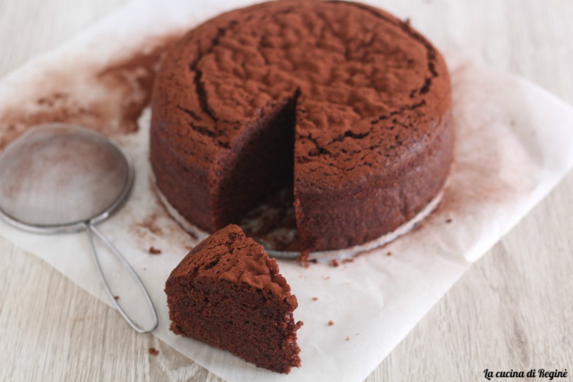 mud cake, torta di fango al cioccolato