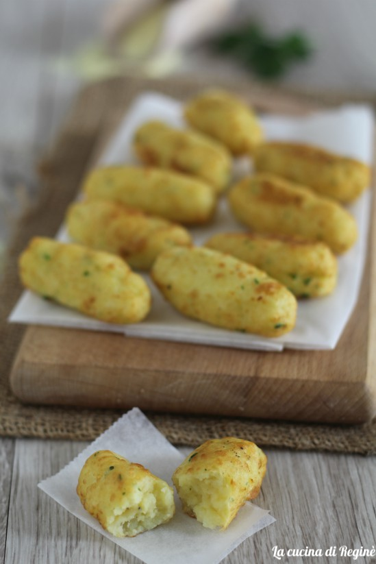panzarotti con fiocchi di patate