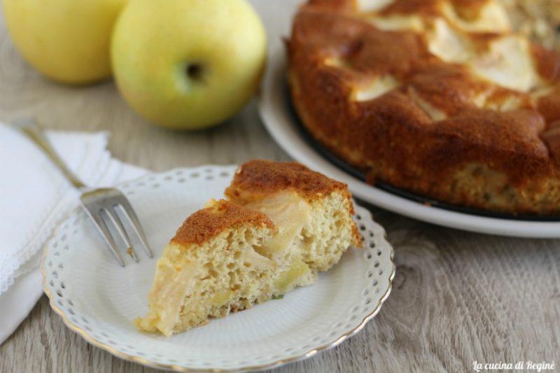 Torta di mele semplice e morbida