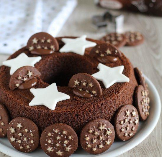 Ciambella pan di stelle e nutella