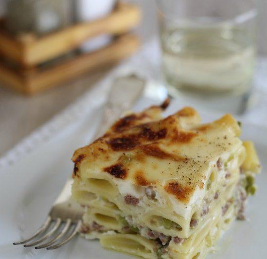 Pasta pasticciata al forno