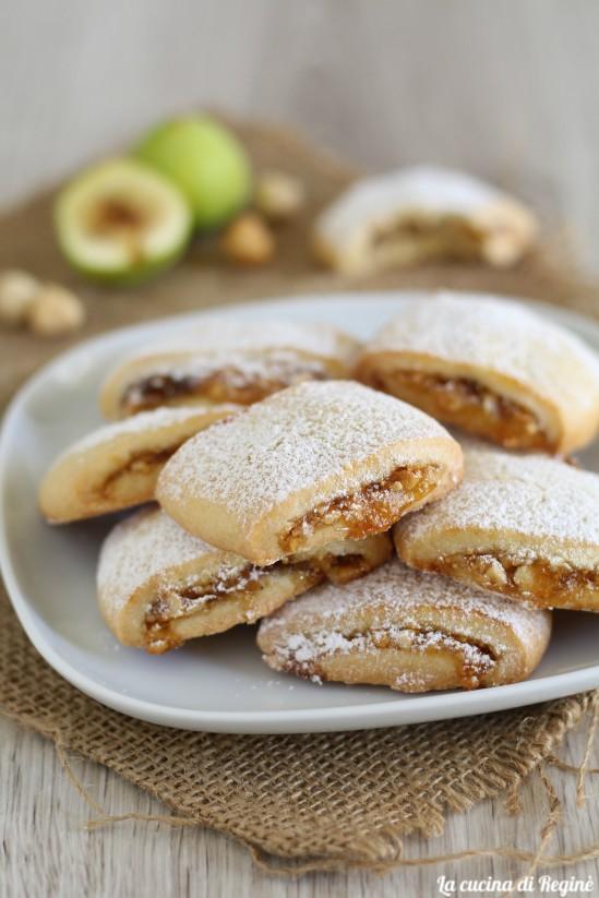 biscotti alla confettura di fichi