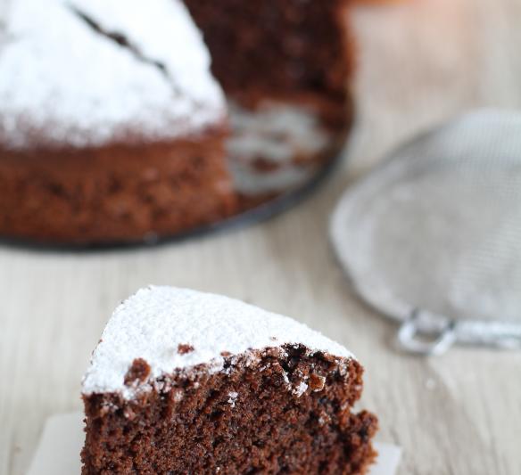 torta cacao e cioccolato senza uova