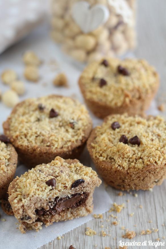 crostate cookies ripiene di nutella