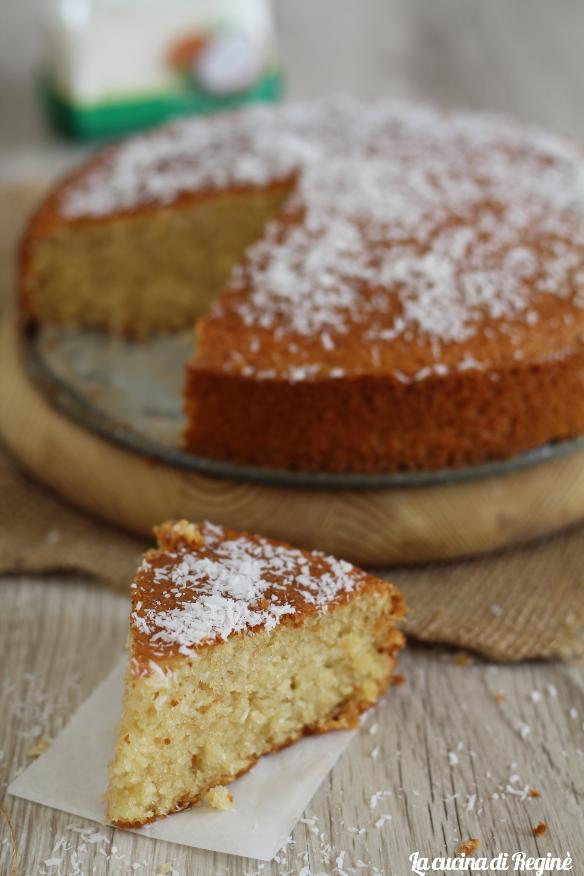 torta veloce al cocco senza glutine