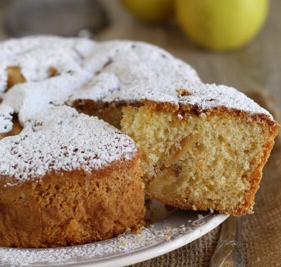 Torta di mele classica senza glutine