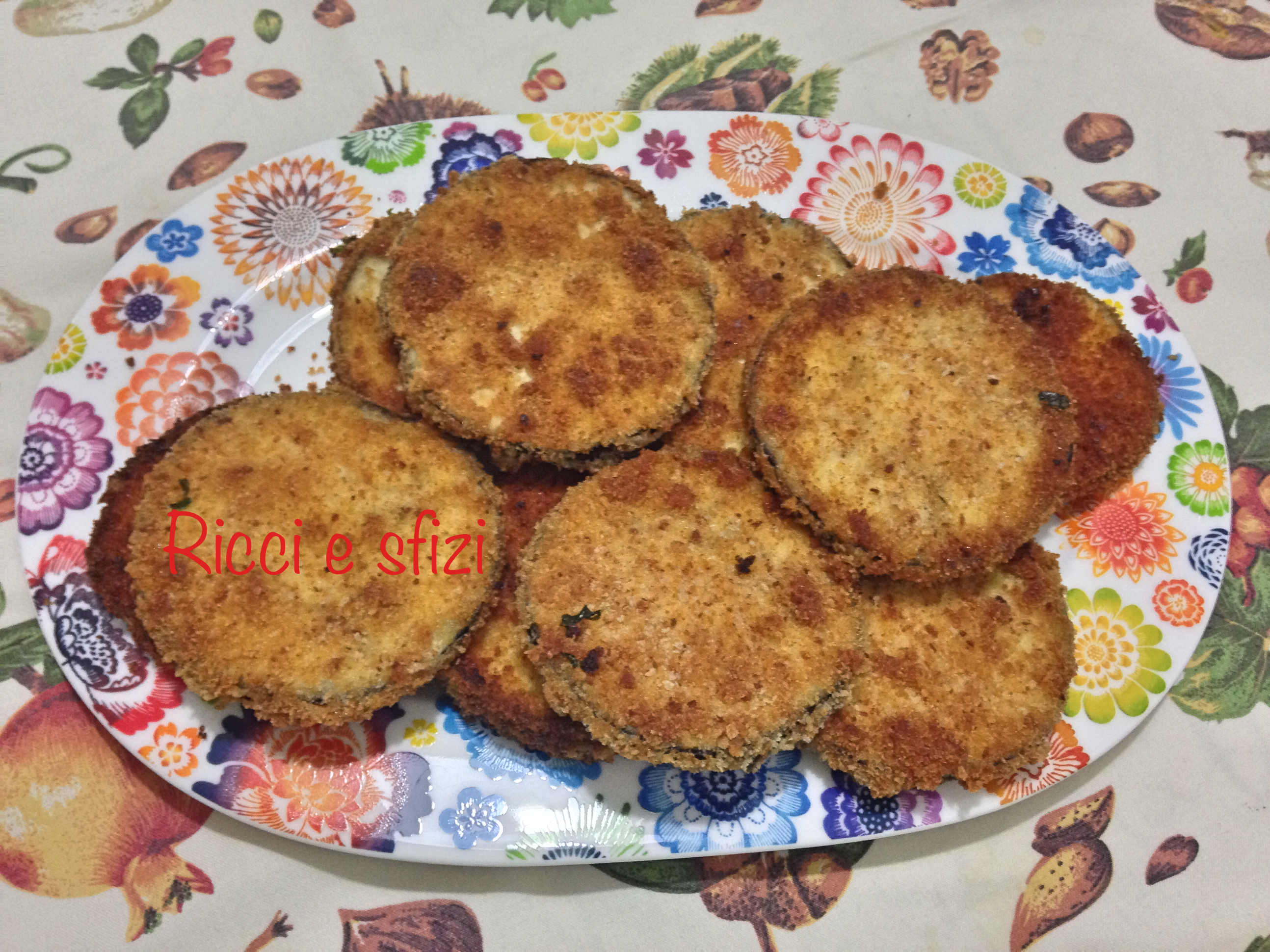 Cotolette di melanzane alla siciliana