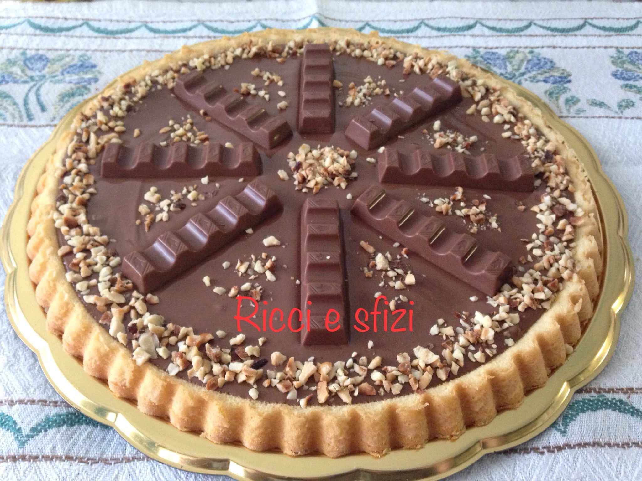 Favoloso Crostata morbida Nutella e Kinder | Ricci e sfizi FY47