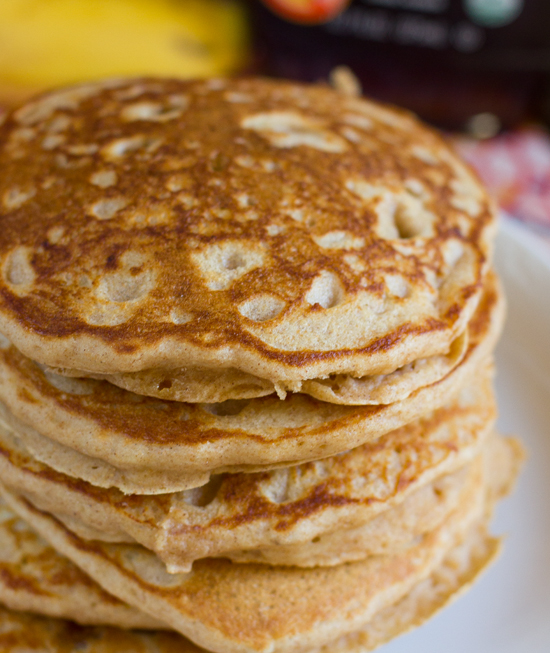 how to make banana pancakes with mix