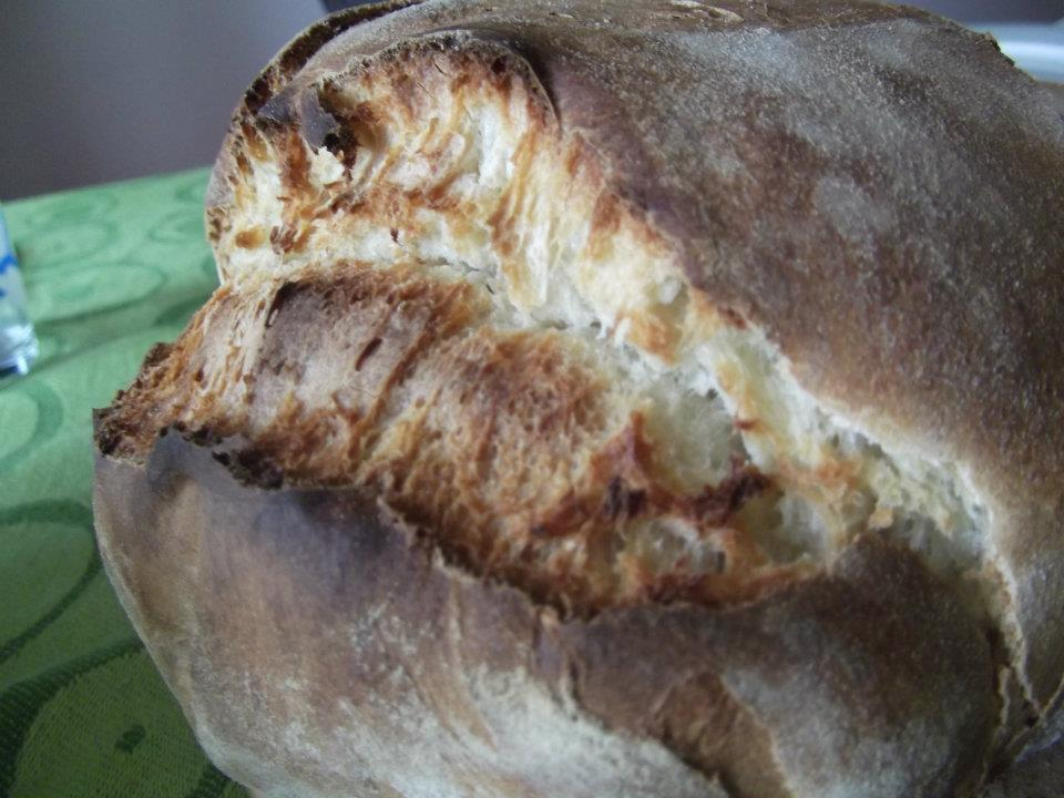 Pane a lievitazione naturale