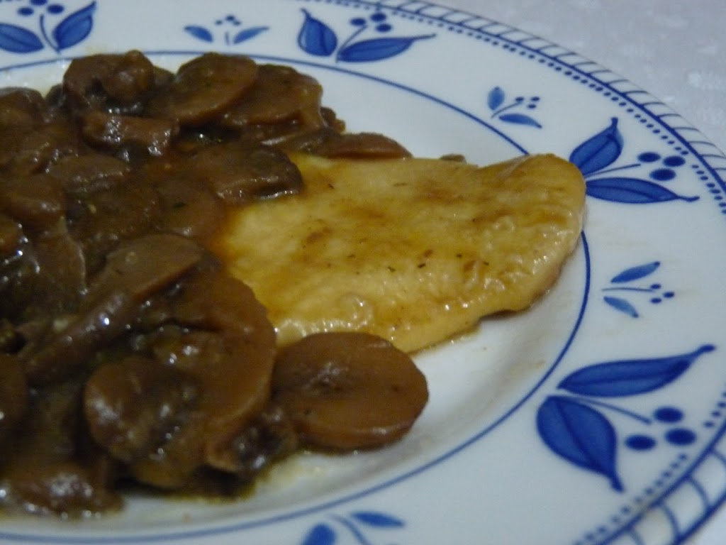 Scaloppina Light con Pollo e Funghi