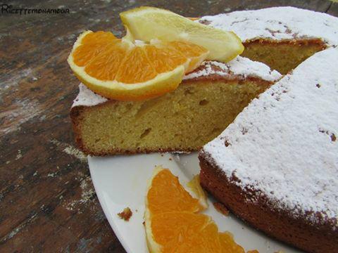 Torta limorancia, senza latte e burro