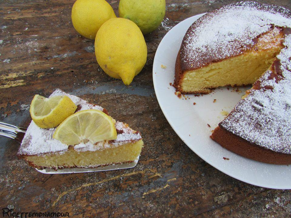 Torta mascarpone al limone