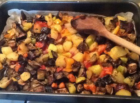 Apoteosi di verdure al forno
