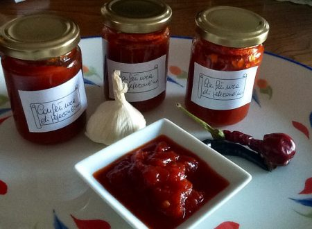 Confettura di peperoncino variante 1