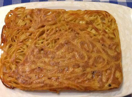 Frittata di spaghetti al forno