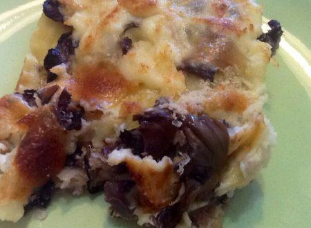 Lasagne con radicchio gratinate