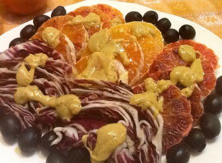 Radicchio e arance in allegria