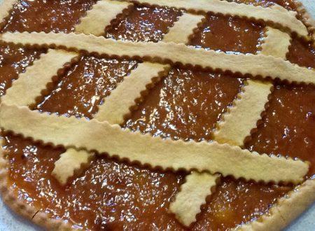 Crostata con marmellata di mandarini
