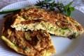 Frittata con le zucchine aromatica