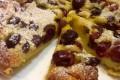 Clafoutis di ciliegie al limoncello