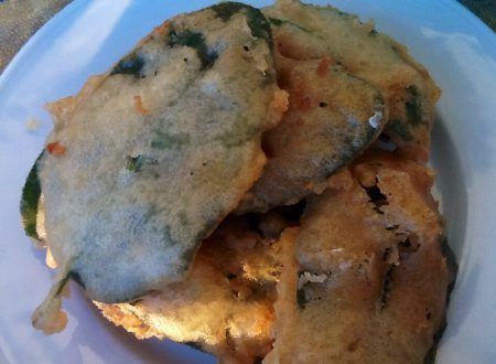 Salvia fritta pastellata