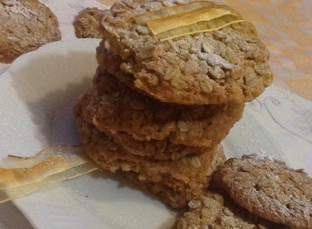 Biscotti con i fiocchi di avena