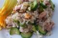 Risotto tonno e zucchine