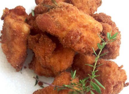 Crocchette di pollo al timo