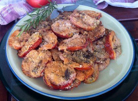 Pomodori gratinati alle erbette