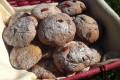 Biscotti con doppia farina e bacche di goji