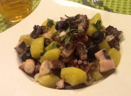 Insalata di polpo, patate e olive
