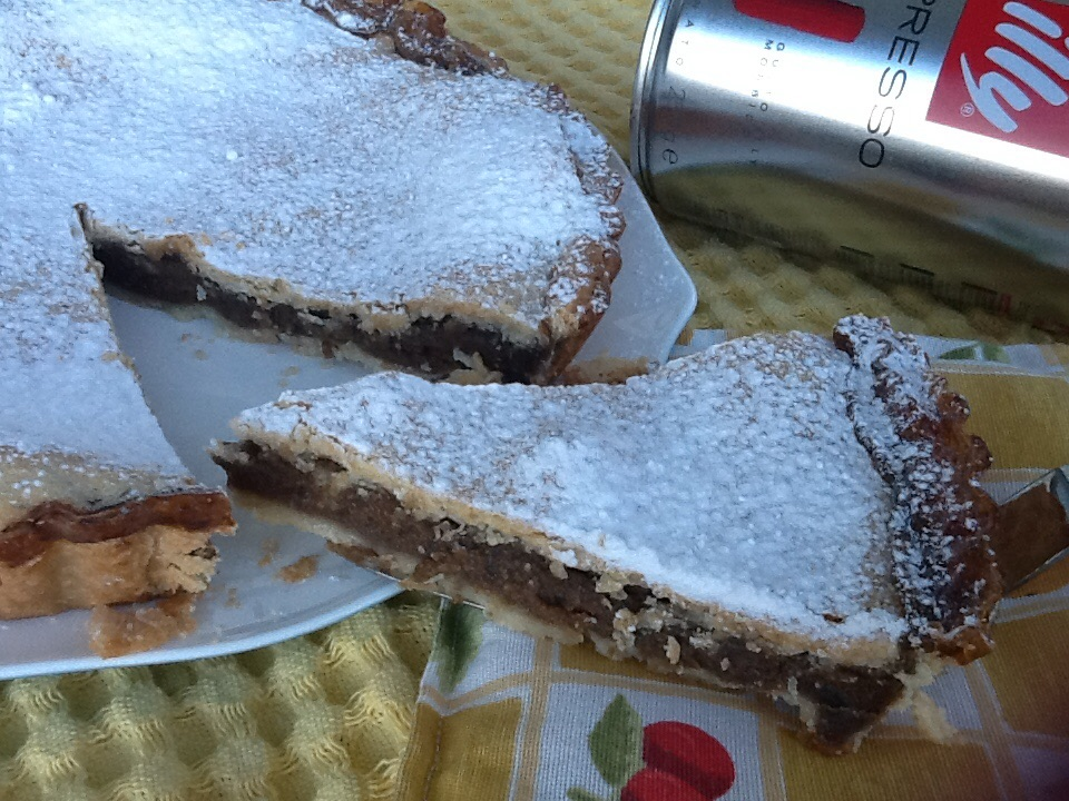Torta Della Nonna Al Caffè