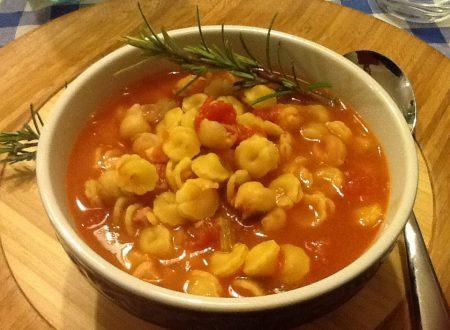 Zuppa di ceci contadina