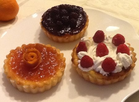 Crostatine con farciture varie