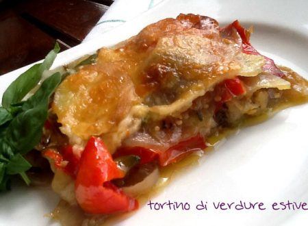 Tortino di verdure estive