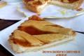 Crostata con ricotta e confettura di albicocche