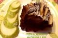 Torta al cioccolato mascarpone e pere