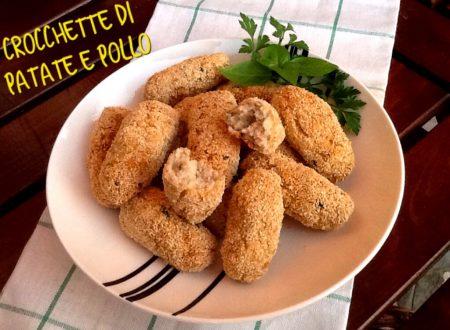 Crocchette di patate e pollo