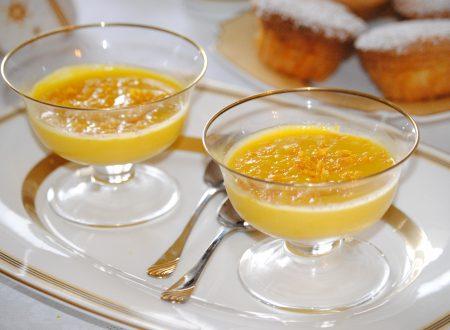 Zabaione caldo all'arancia