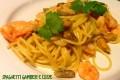 Spaghetti gamberi e cozze